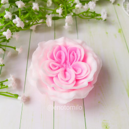 """""""Пионовидная роза"""", мыло ручной работы"""