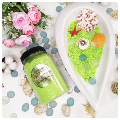 Мерцающая пудра для ванны «Green»