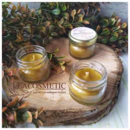 Свеча из натурального пчелиного воска, 25 мл